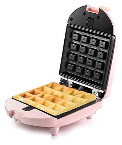 Máquina de fabricante de waffle de la estación de desayuno eléctrico multifunción Mini Waffle Máquina con placas antiadherentes Máquina de fabricante de tostadora para el desayuno almuerzo o bocadillo