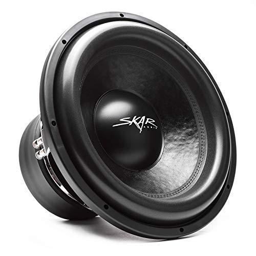 "Skar Audio VXF-15 D4 15"" 3000 Watt Max Power Dual 4 Ohm Competition Car Subwoofer"