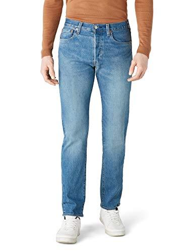 Levis® Herren Jeans 501® - Original Fit - Blau - Penne, Größe:W 31 L 32, Farbe:Penne (2640)
