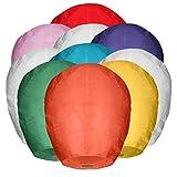 Best Sky Lanterns - Maikerry 20 Pack Handmade Chinese Lanterns 100% Biodegradable Review
