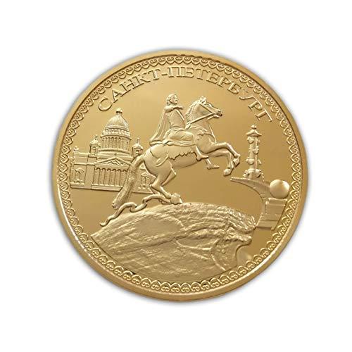Eillwin Russische Peter The Great & Saint Petersburg Sammlerstück & Gedenkmünze Geschenk