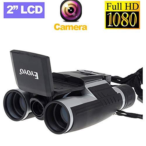 WLDOCA 1080P HD LCD Camcorder DV Fernglas Digitalkamera Teleskop, Nachtsichtgerät mit langlebigem und klarem Prisma für Vogelbeobachtung, Camping, Wandern, Match