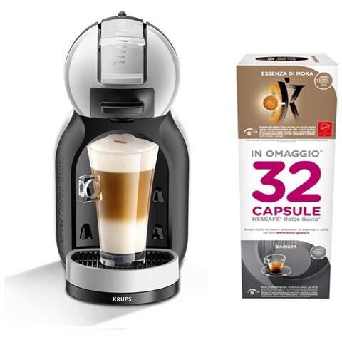 KRUPS Macchina da caffè Dolce Gusto MINI ME KP123BKP antracite + 32 capsule incluse