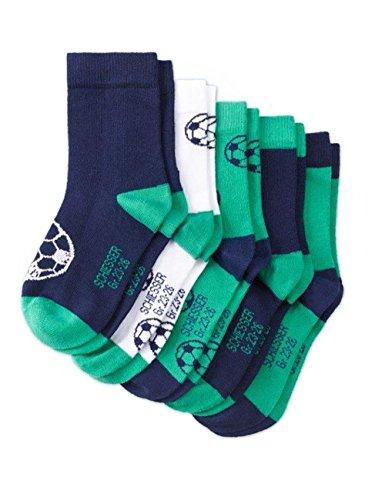 Schiesser Jungen Kindersocken (5PACK) Socken, Mehrfarbig (Sortiert 1 901), 19-22 (1-2 Jahre) (5er Pack)