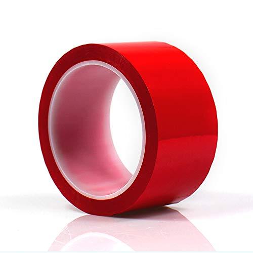 ONECHANCE Isolierband Elektriker 50M/roll, Hitzebeständiges Klebeband Hochtemperatur für Elektrische Leitungen, Flammhemmend Color Rot Size 5mm(10 rolls)