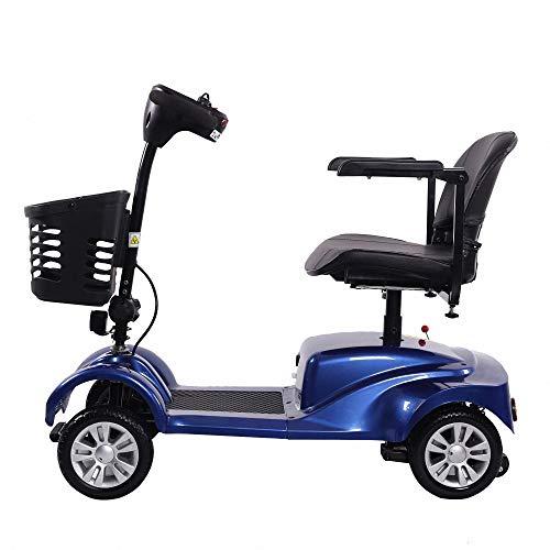 Miarui Elektrische scooter, 4 wielen, senior, mobiel, 200 W, 8 km/h, bereik 40 km, voor oudere mensen met een handicap