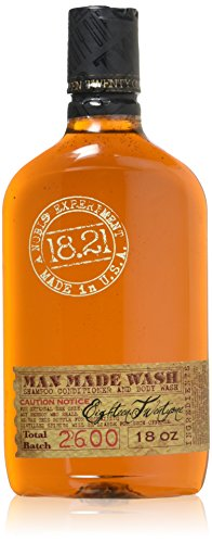18.21 Man Made Wash, Original Sweet Tobacco, 18 Fl Oz