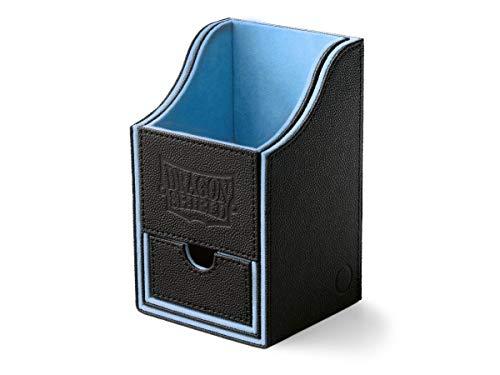 Arcane Tinmen 40203 - Dragon Shield: Nest Box + Dice Tray – Black/Blue