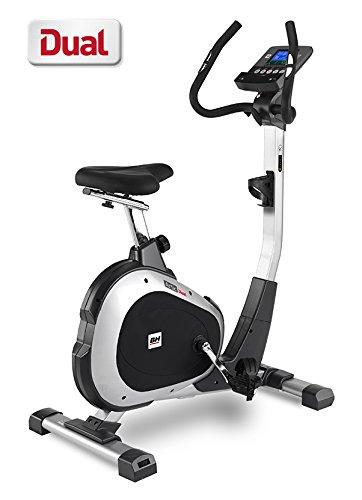 BH Fitness ARTIC DUAL H674U - Cyclette da camera - magnetica - volano da 8 Kg