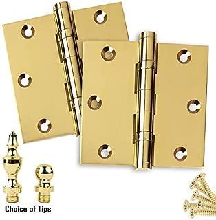 Best hager brass door hinges Reviews