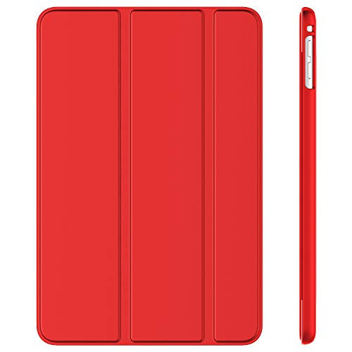 JETech Case for iPad mini 5 (2019 Model 5th Generation), Smart Cover with Auto Sleep/Wake (Red)