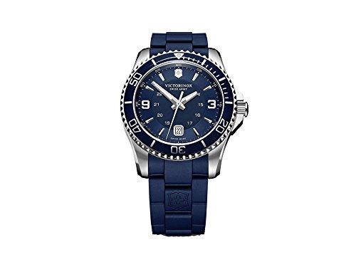 Victorinox maverick reloj para Hombre Analógico de Cuarzo con brazalete de Goma V241603