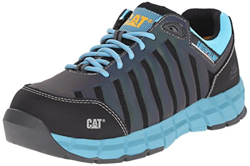 Caterpillar Women's Chromatic Oxford Athletic Comp Toe, Maui Blue, 7.5 M US