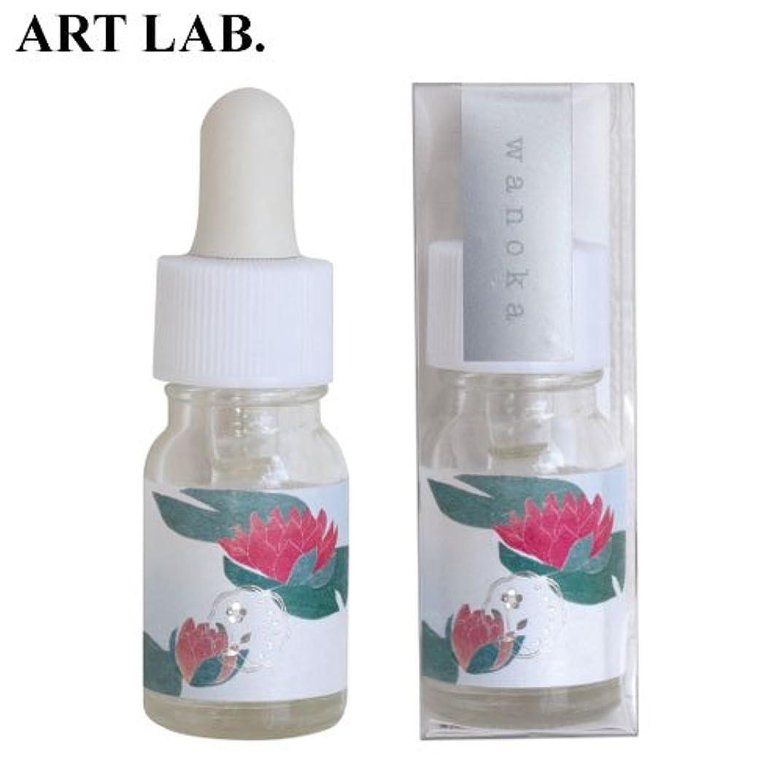 混乱法令ネックレットwanoka香油アロマオイル睡蓮《睡蓮をイメージした清楚な香り》ART LABAromatic oil
