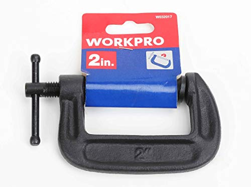 Workpro 2 Steel C-Clamp (W032017WE)