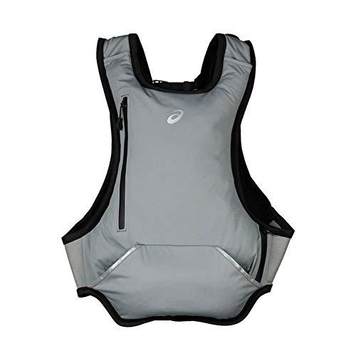 ASICS Unisex_Adult Running Backpack Daypack, Stone Grey, one size
