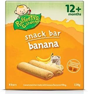 Rafferty's Garden Fruit Snack Bar Banana (12M+) 128g
