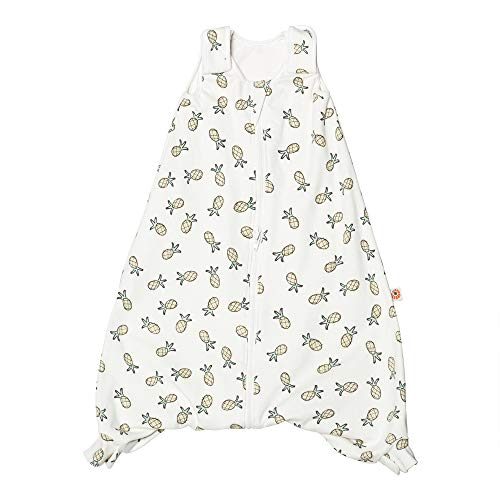Ergobaby Sleeping Bag On The Move, Large (18-36 Months), Pineapples, 1.0 Tog