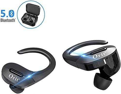 Auriculares Bluetooth 5.0 Deportivos, Orit Auriculares...