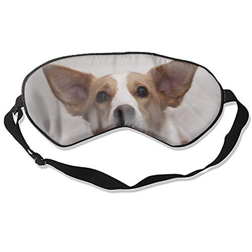Schlafmaske aus Seide, für Hunde, atmungsaktiv, weich, für Reisen, Schlafen, Entspannung, Spa, Daydream im Flugzeug