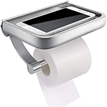 Wall Mounted toiletrolhouder Tissue vloeihouder toiletrolafgeefinrichting Met Phone Aflegplateau for badkamer accessoires