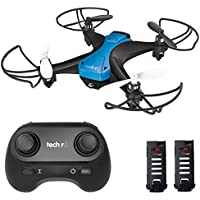 Tech RC Easy Fly Mini Drone with 2 Batteries