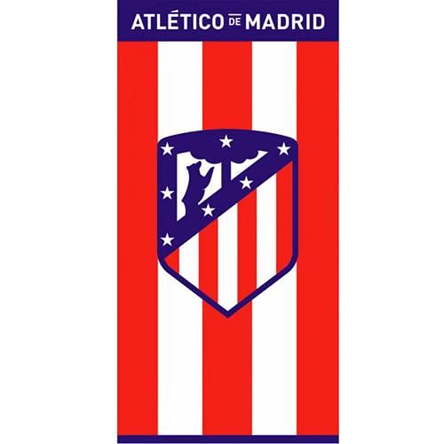 Toalla Playa Terciopelo Atlético de Madrid Escudo Centrado 70x150