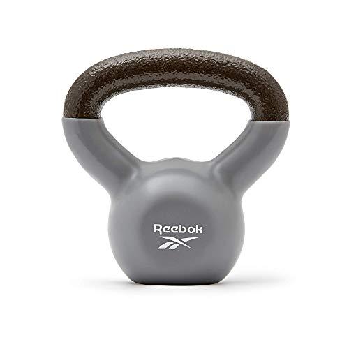 Reebok Unisex-Adult Kettlebell, Grau, 8 kg