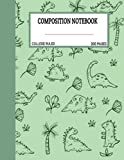 Dinosaur Composition Notebook College Ruled: Cute Green Dinosaur Composition Notebook College Ruled, Composition Notebook , Dinosaur Composition ... adult, 200Pages ,8.5x11 inches, College Ruled
