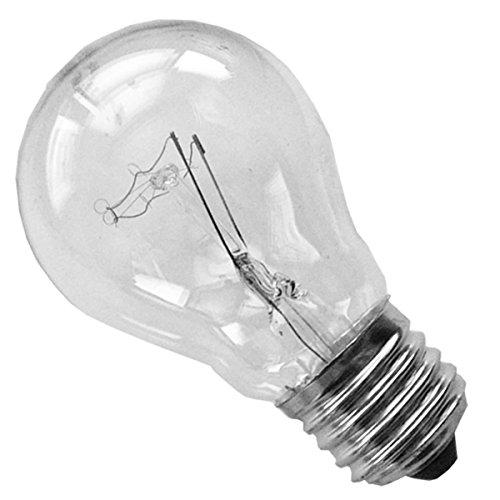 10x Glühbirne 40 Watt Klar E27 Gluehlampe
