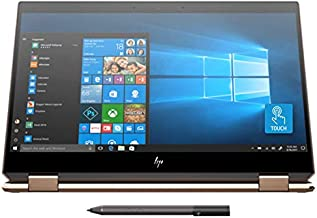 Newest HP Spectre x360 15t Touch AMOLED 10th Gen Intel i7-10510U with Pen, 3 Years McAfee Internet Security, Windows 10 Professional, HP Warranty, 2-in-1 Laptop PC (16GB, 1TB SSD, Dark Ash)