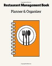 Restaurant Management Book Planner & Organizer