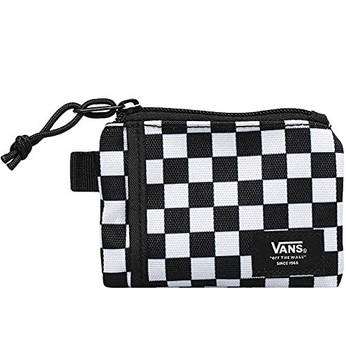 Vans Accesorio de Viaje- Billetera Viaje, One Size, Black-White Check