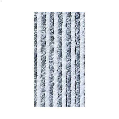 Arisol 932991244 - Cortina para caravanas (56 x 205 cm), color gris y blanco