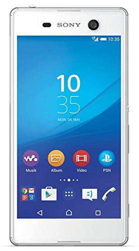 Sony Xperia M5 Smartphone (5,0 Zoll (12,7 cm) Touch-Display, 16 GB Speicher, Android 5.0) weiß