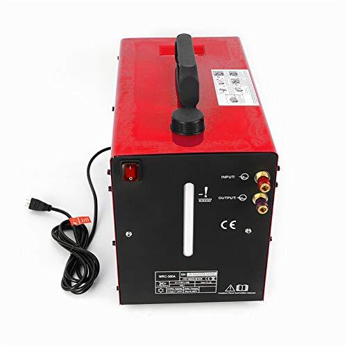 370 W 10 L de agua refrigerada por agua, tanque de agua refrigerante, sistema de soldadura en frío, máquina integrada WIG, juego de refrigeración 220 V