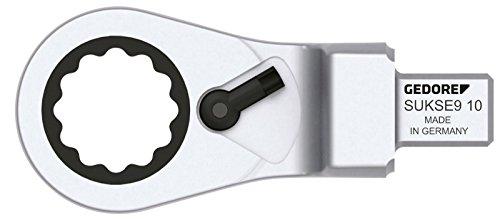 Gedore insteek-ringsleutel omschakelbaar SE 9 x 12 x 10 mm