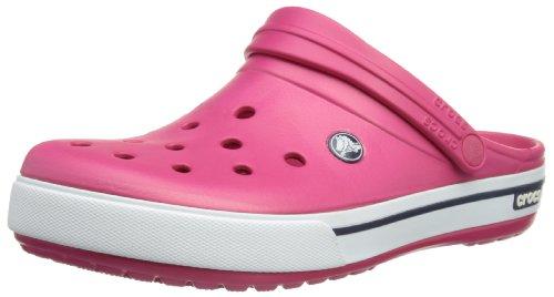 Crocs Crocband II.5 Clog, Zuecos Unisex Adulto, Rojo (Raspberry/Navy), 45/46 EU