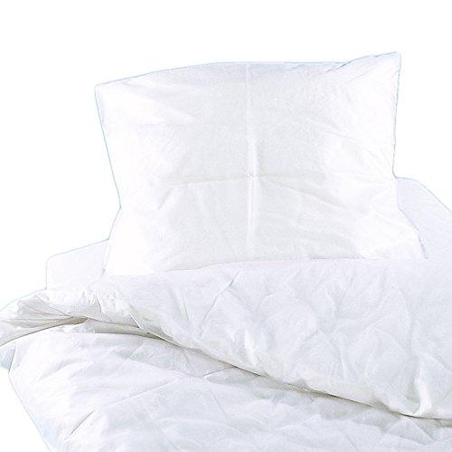 Suprima Inkontinenz Bettwäsche-Set aus PVC transparent-blau