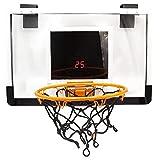 SHENAISHIREN Soporte De Baloncesto para Colgar Interior, Canasta De Integrador De Juguetes para Niños para Niños Al Aire Libre Y para Niños Juguetes Deportivos Al Aire Libre