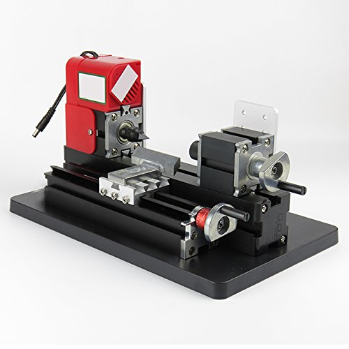 Purchase DIY Mini Metal Motorized Lathe Machine Power Tool Model Making Woodworking Tool FROM USA ST...