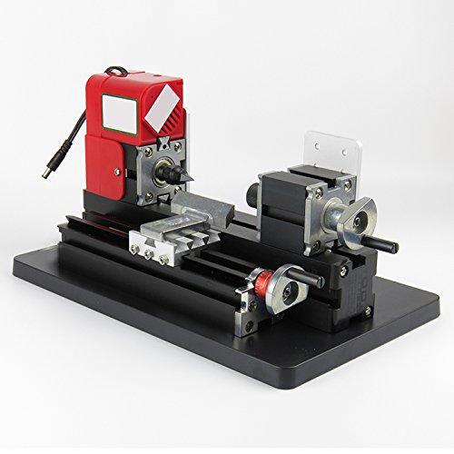 Best Deals! zorvo Mini Metal Lathe Machine 20000rpm/min, Mini Lathe Machine saw,DIY Mini Lathe for P...
