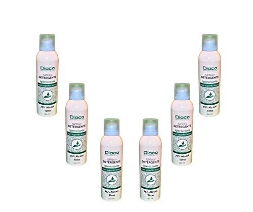 Set 6 Diaco Spray detergente igienizzante - 150 ml