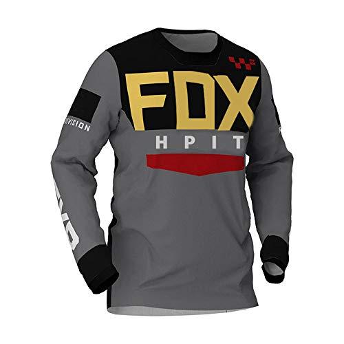 LGGJJYHMY Fahrrad MTB Shirts Offroad DH Motorrad Trikot Motocross Sportbekleidung Kleidung FXR Fahrrad-XXL