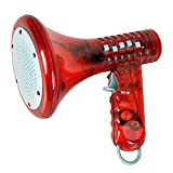 Kicko Kids' Multi Voice Changer 1 Pack, Red Color - Change Your Voice Modifier, for Boys and Girls of All Ages, Parties, Christmas, Events