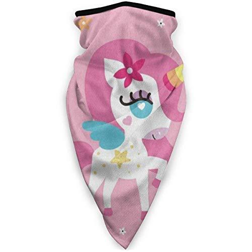 Traveler bivakmuts bivakmuts gezichtsmasker ademend eenhoorn winddicht meisjes roze kraag warme hals sjaal outdoor