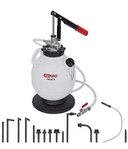 KS Tools 150.9275 Universal Getriebeöl-Füllsystem-Satz mit 15-tlg. Adaptersatz