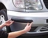 HABILL-AUTO 2 Protections pour Pare Choc 37cm Noir