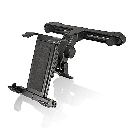 Bracketron Universal Tablet Headrest Mount for iPad Samsung Galaxy Tab S4 S3 Microsoft Surface Pro Asus ZenPad 3S 10 Lenovo IdeaPad Huawei MediaPad Amazon Fire IPD-362-BX