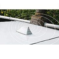 MPOQZI 車の信号アンテナシャークフィンアンテナアクセサリー、メルセデスベンツEクラスに適合W201 W211 W212 W212 W213 CLS W218